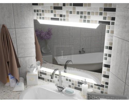 Зеркало с подсветкой для ванной комнаты Матена