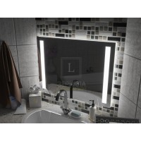 Зеркало с подсветкой для ванной комнаты Мессина 160х80 см
